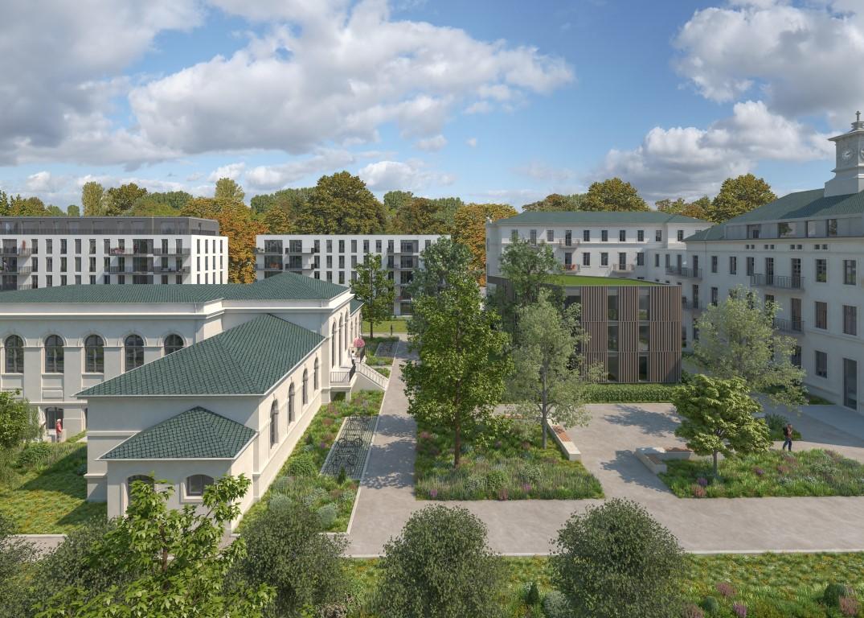 Das neue Wohnviertel in der Albertstadt